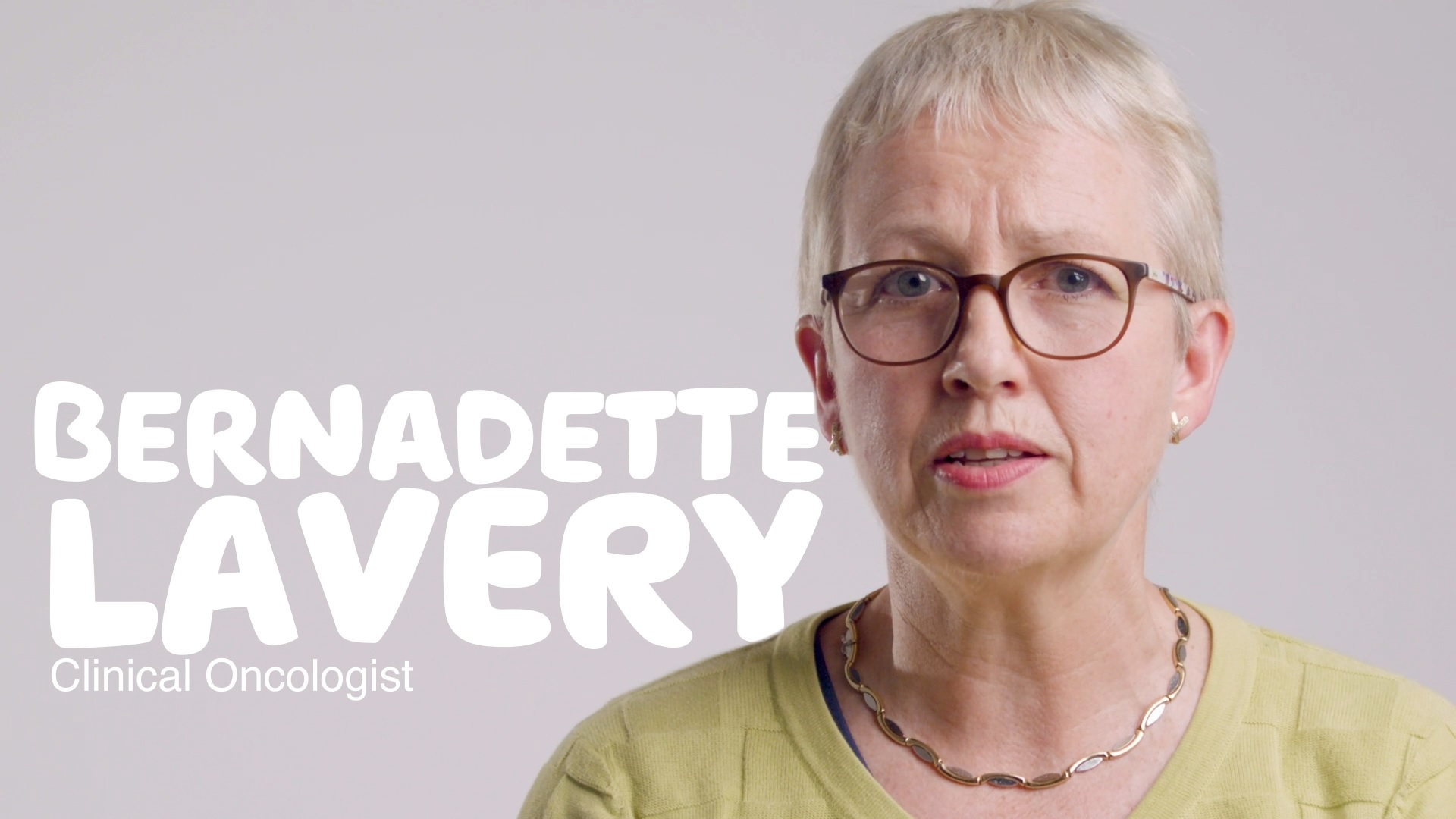 Bernadette Lavery, a clinical oncologist, talks you through what Breast Cancer is, the main types, risk factors, stages and common treatments available to you. [03:35]
